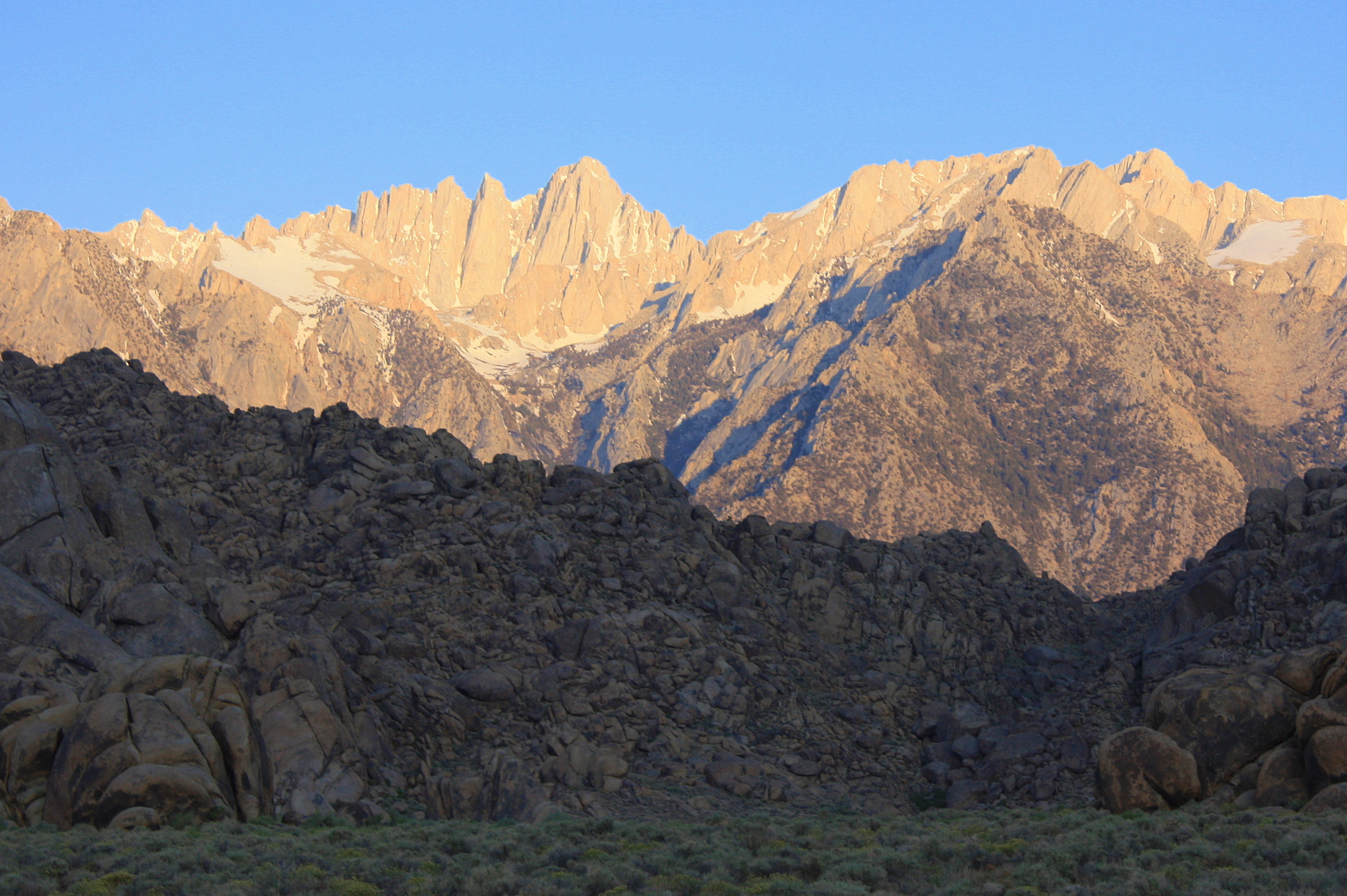 Mount Whitney (California)  14,497 ft/4,419 m Sierra Nevada ¬– Highest point in the Continental U.S.