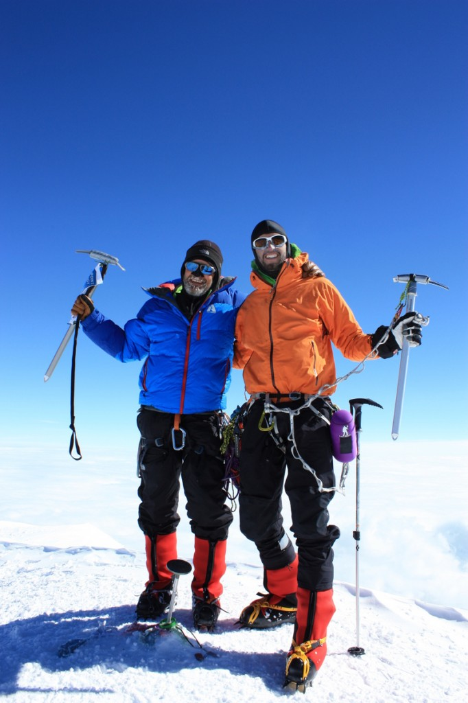 Denali's summit, June 18, 2014.